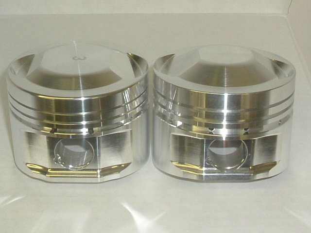 GC forged 8V TC pistons, medium and high compression dome.JPG