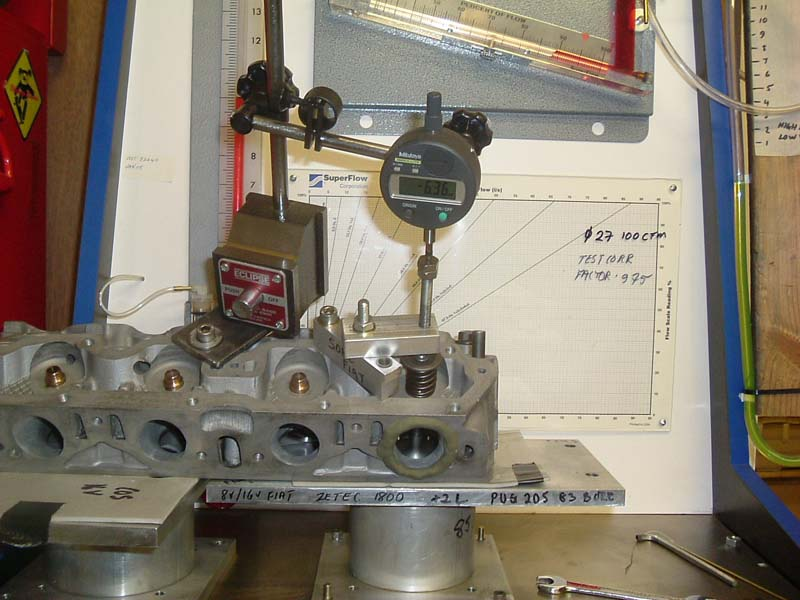 Test head on Superflow rig with inlet valve.jpg